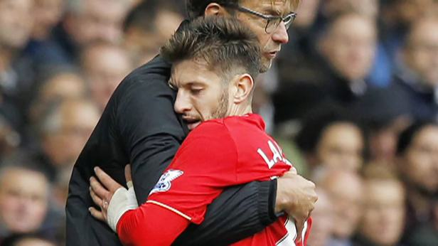 lallana-with-klop